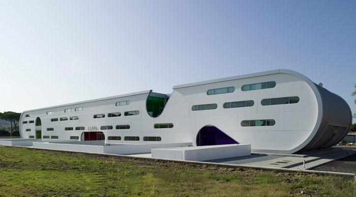 طراحی ساختمان صنعتی
